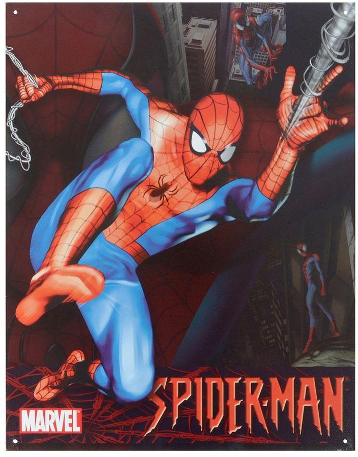 Marvel Spider-Man Vintage Metal Wall Decor