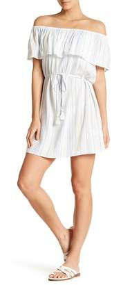 Hawaiian Tropic Escape to Santorini Off-the-Shoulder Dress