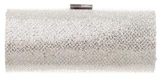 Jimmy Choo Glitter-Coated Clutch