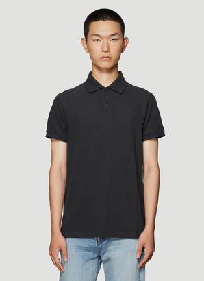 Saint Laurent Polo Shirt in Grey