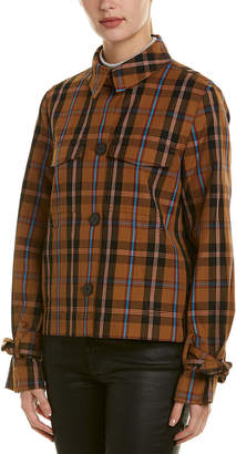 Derek Lam 10 Crosby Plaid Jacket