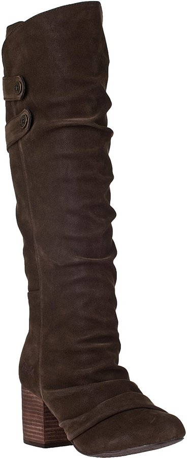 Blowfish Telland Tall Boot Dark Brown