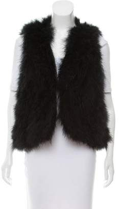 Joie Feather Open Front Vest