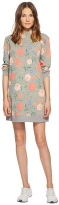 Kate Spade New York Athleisure Blossom Sweatshirt Dress Women's Dress