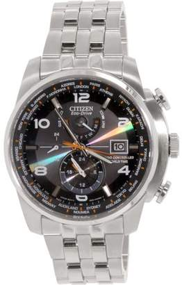 Citizen Eco-Drive World Time AT Radio Men's Watch, AT9010-52E