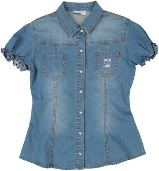 MonnaLisa Denim shirts - Item 42703744VS