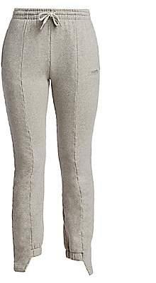 Vetements Women's Cut-Up Sweatpants