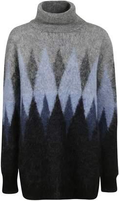 Junya Watanabe Intarsia Knit Sweater