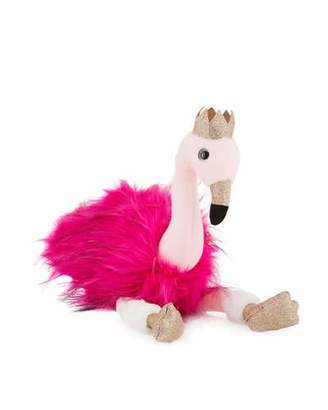 Histoire d'Ours Stuffed Flamingo Toy with Crown, 18""