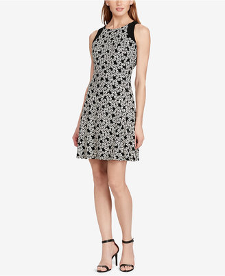 American Living Floral-Print Jersey Dress $69 thestylecure.com