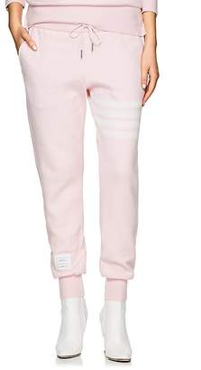Thom Browne Women's Block-Striped Cashmere-Blend Jogger Pants
