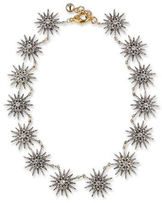 Lulu Frost Encore Crystal Star Station Necklace $495 thestylecure.com