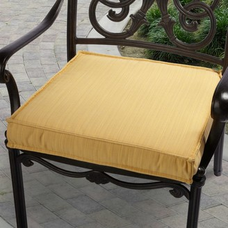 Mozaic Sunbrella 20-in. Textured Outdoor Chair Cushion