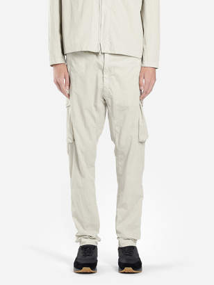 Stone Island MEN'S OFF-WHITE CARGO PANTS