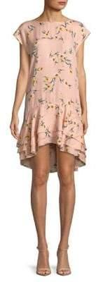 Joie Coreen Floral Silk Dress