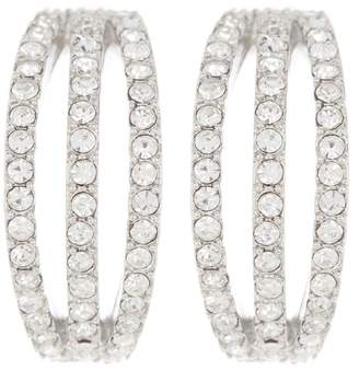 Carolee CZ Small Hoop Earrings