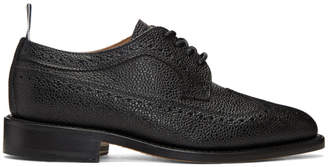 Thom Browne Black Longwing Brogues