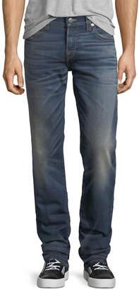 True Religion Geno Slim-Straight Stretch Denim Jeans