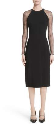 Jason Wu Collection Swiss Dot Sleeve Dress