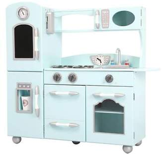 NEW Teamson Kids Robbie Play Kitchen, Mint