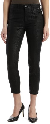 Mavi Jeans Tess Coated High Waist Super Skinny Jeans