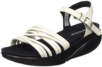 MBT Women's Kaweria Sandals with Straps White Size: