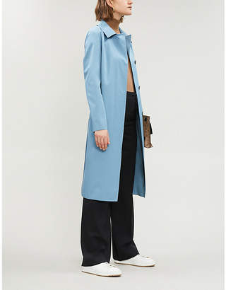 Theory Buckled cotton coat