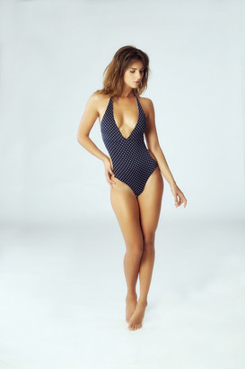 Leah Shlaer Swimwear - The Coco-C One Piece In Polka Dots $265 thestylecure.com