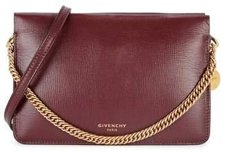 Givenchy Cross3 Aubergine Leather Cross-body Bag