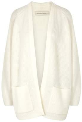 By Malene Birger Belinta Ivory Wool-blend Cardigan
