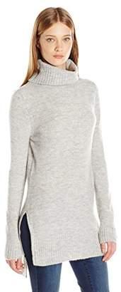 Noisy May Women's Milo Long Sleeve Turtleneck Sweater