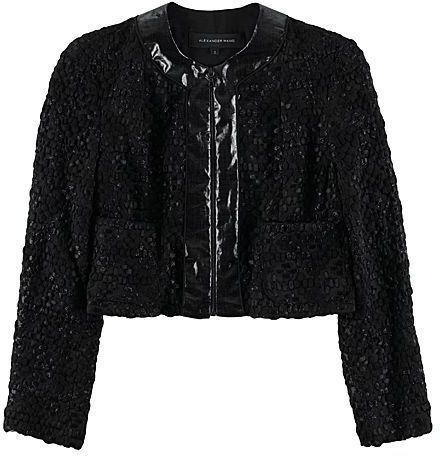 Alexander Wang Embroidered Cropped Jacket