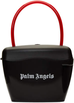 Palm Angels Black Padlock Bag