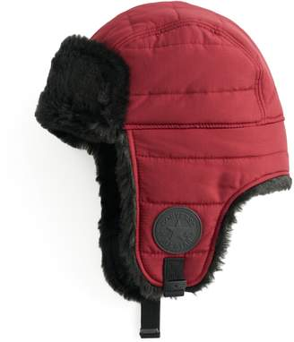 Converse Quilted Faux Fur Trapper Hat