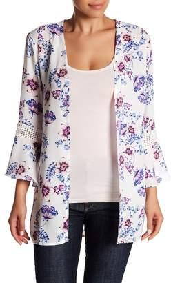 Olive + Oak Olive & Oak Sutton Floral Print Kimono