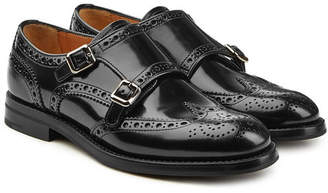 Church's Lana Leather Brogues with Monk Strap