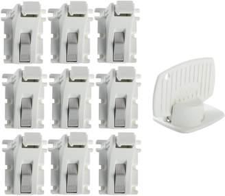 KidCo Adhesive Magnet Lock Complete 11 Piece Starter Set