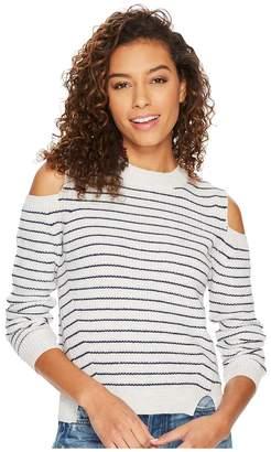 Lucky Brand Cold Shoulder Sweatshirt Women's Sweatshirt