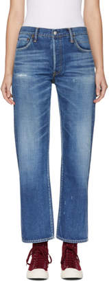 Visvim Blue Social Sculpture W03 Jeans