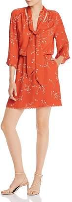 Joie Dakoda Minimalist Floral Print Dress