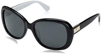 Kate Spade Women's Judyann/p/s Oval Sunglasses