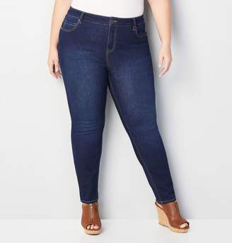 Avenue 1432 Skinny Jean in Dark Wash