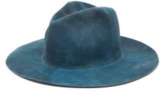 Reinhard Plank Hats - Norma Fedora Hat - Womens - Grey