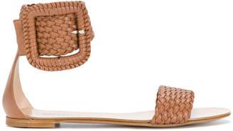 Casadei woven sandals