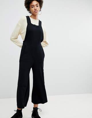 Asos Knitted Apron Jumpsuit