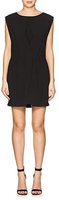Halston WOMEN'S CREPE MINIDRESS