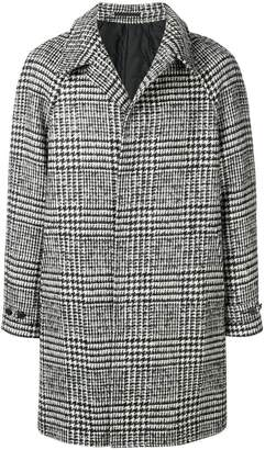 Ermenegildo Zegna single breasted oversized coat