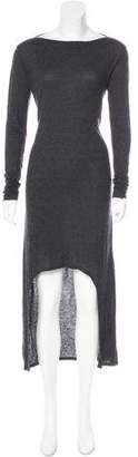 Enza Costa High-Low Long Sleeve Dress