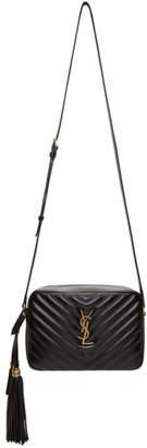 Saint Laurent Black Lou Camera Shoulder Bag