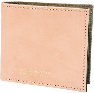 Scotch & Soda Leather Billfold Wallet